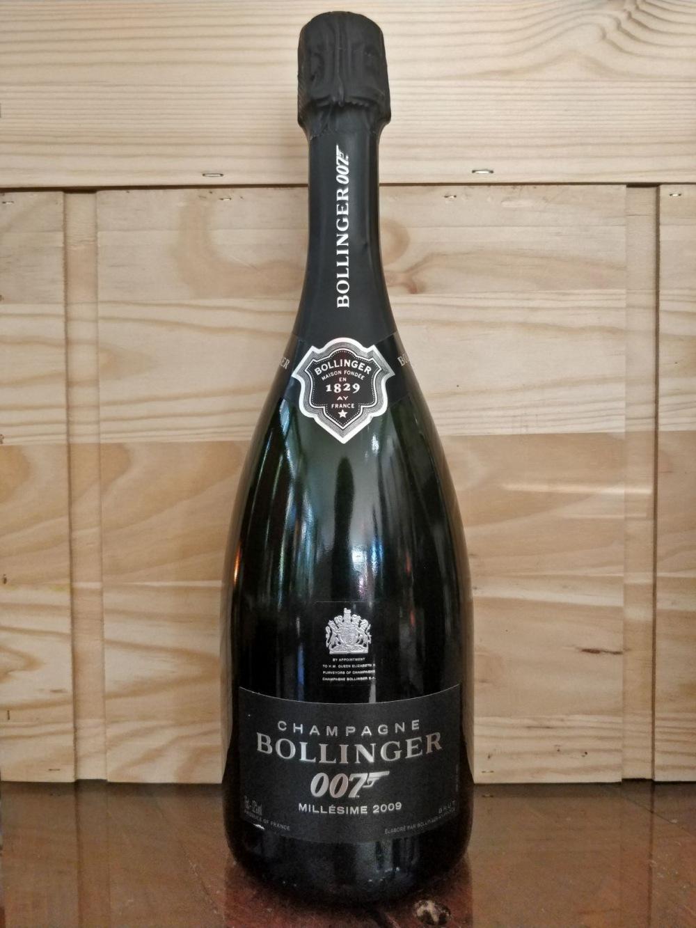 bollinger 007 millesime 2009